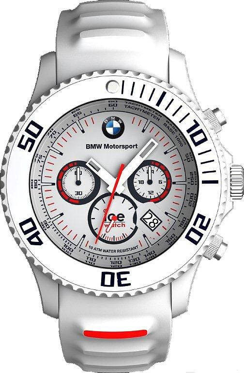 0b6ba365de7 Ice Watch BMW Chrono White 53MM Fatos