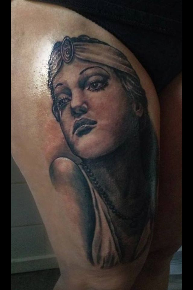 tattoo classic hollywood actress