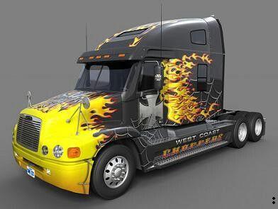 Flame Burner Freightliner Century Class Freightliner Trucks Freightliner Kenworth Trucks