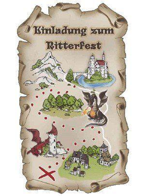 SUSY CARD Einladungskarten Kindergeburtstag Ritter Max Von Susy Card,  Http://www.