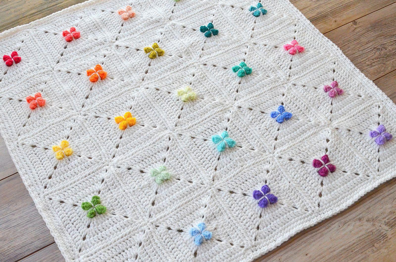 Cora Granny Square pattern by The Loopy Stitch | Manta, Tejido y Bebé