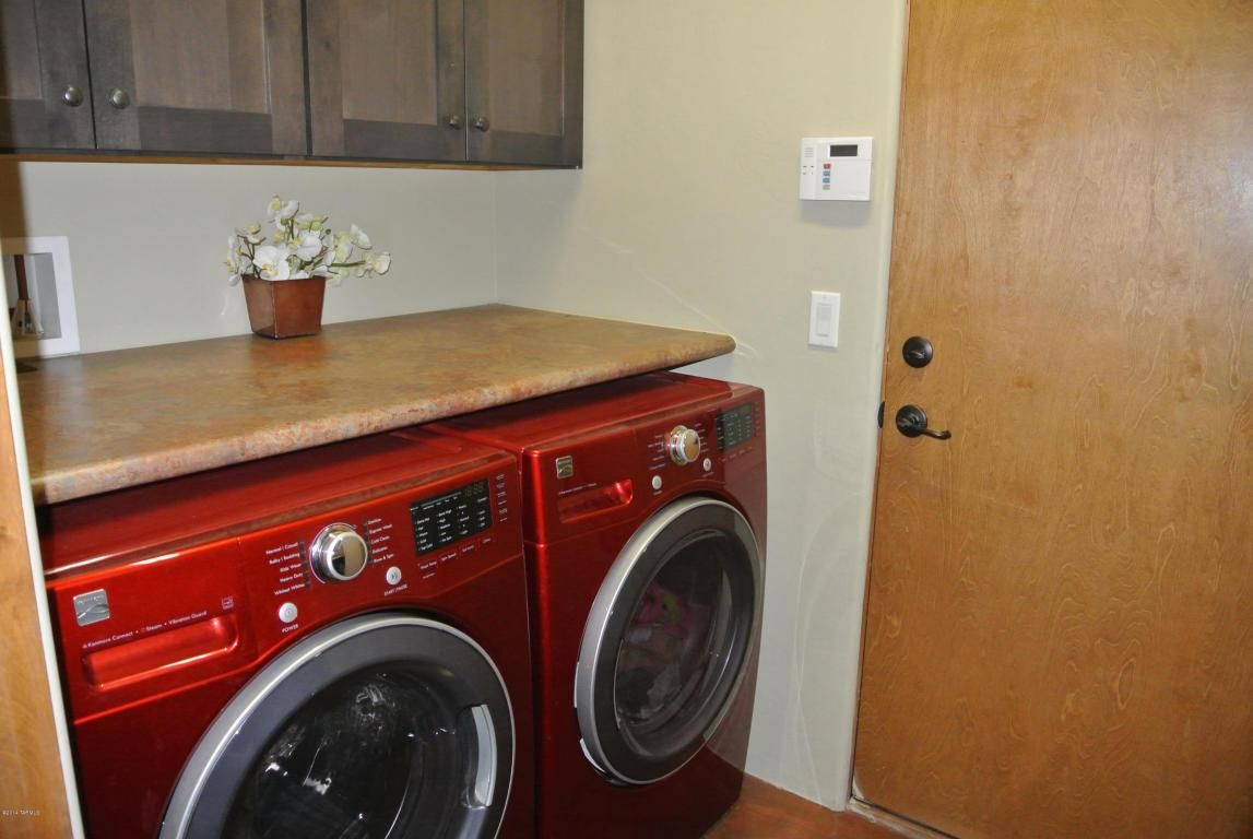 Countertop for front load washer and dryer - Counter Top Above Front Load Washer And Dryer Makes Great Folding Space