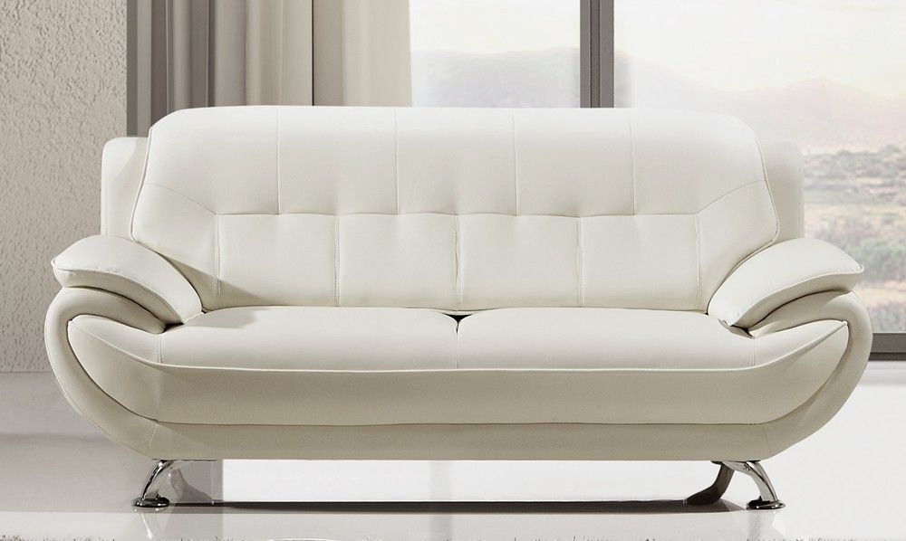 Pin by Sofacouchs on Sofas & Couches in 2019 | White leather ...