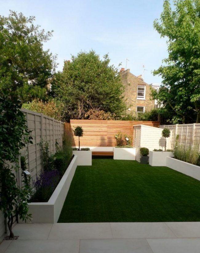Moderne-Gartengestaltung-2015-Trends-Garten-Innenhof-Rasen
