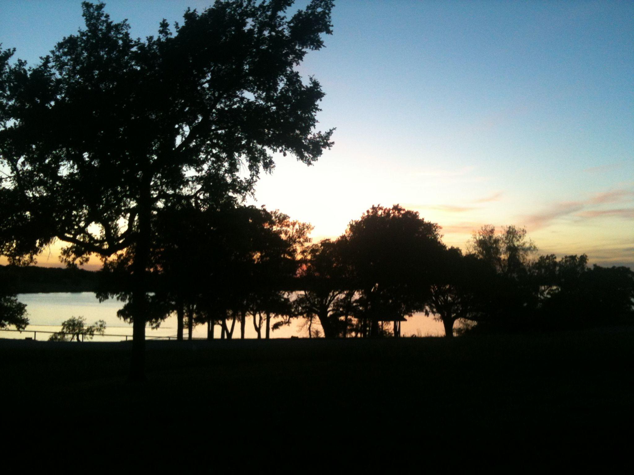 Sunset on the lake :)