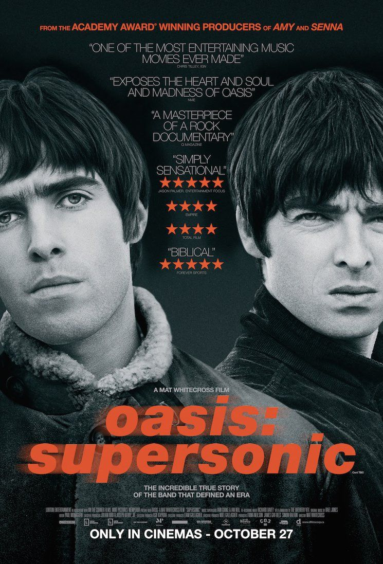 Oasis - Supersonic (Mat Whitecross, 2016) | Films in 2019
