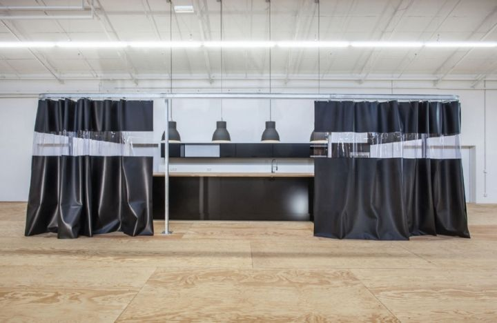 Quiksilver Concept Showroom by Clemens Bachmann Architekten, Munich   Germany sports showroom store design fashion