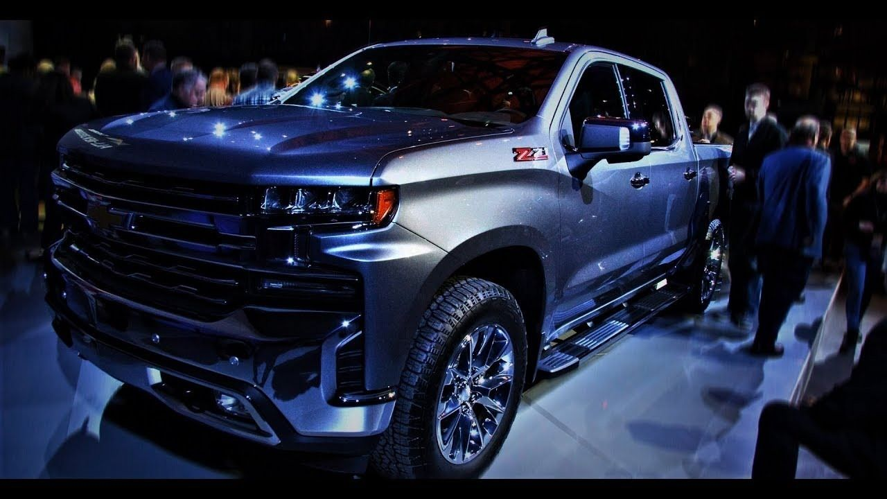 2019 Z71 New Interior (With images) Chevy silverado