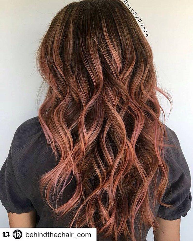 Du Hast Braune Haare Und Lust Auf Eine Kleine Farbveranderung Dann