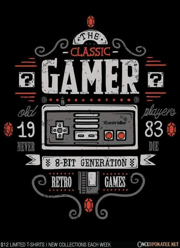 e6dce526 My moms generation (yes my mom is very young) | New video game consoles |  Video game posters, Video game art, Gamer t shirt