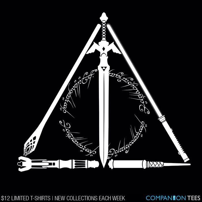 Love This But I Wish They Had Included Another Fandom Rather Than Repeating Harry Potter And Lotr Star Wars Tattoo Harry Potter Lord Of The Rings Tattoo
