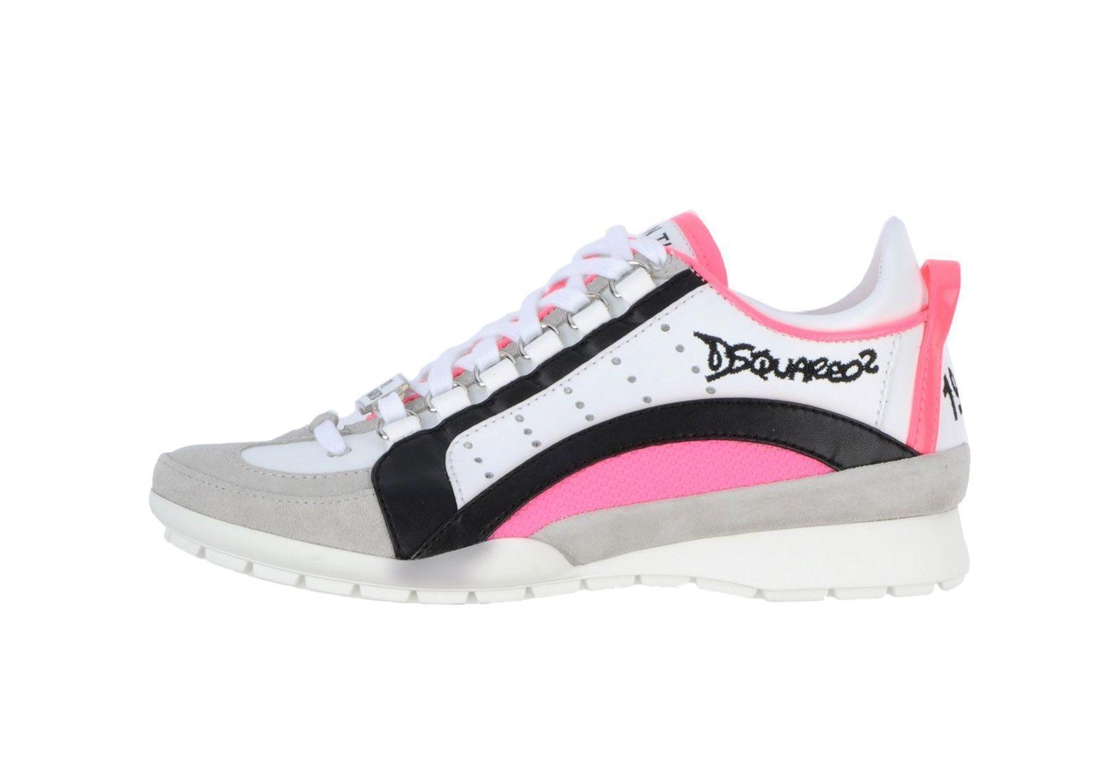 #Dsquared sneakers dames roze wit zwart « I Love #sneakers, gewoon alle  sneakers
