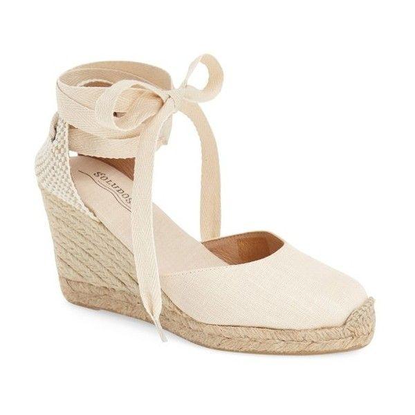 8d169b065c4 Soludos Wedge Lace-Up Espadrille Sandal