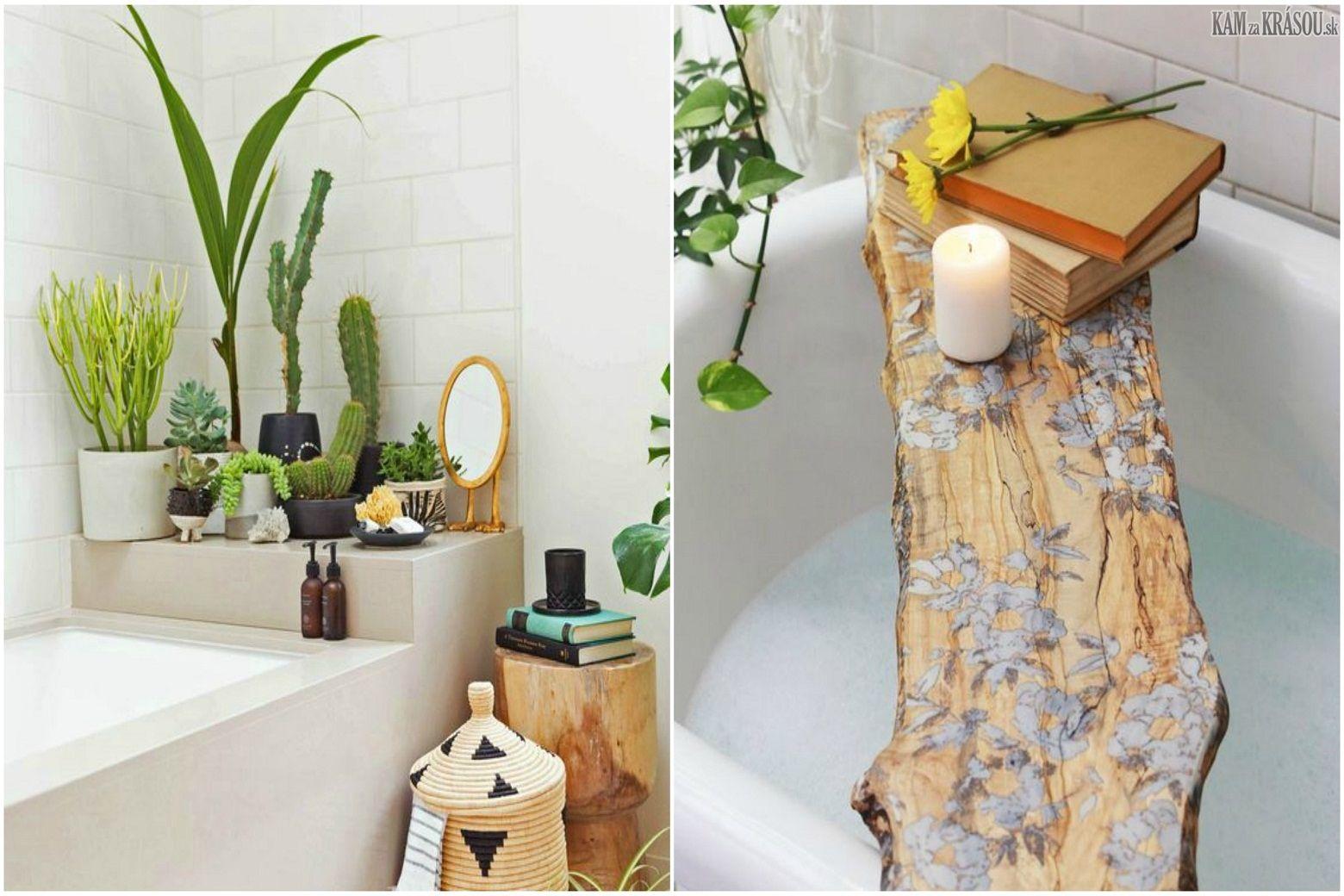 313f4a763 Aké sú vhodné rastliny do kúpeľne | Domov / Home | Bath caddy ...