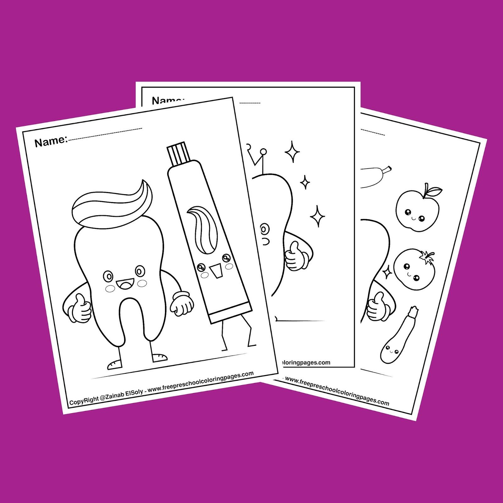 All Free Printable Preschool Coloring Pages In