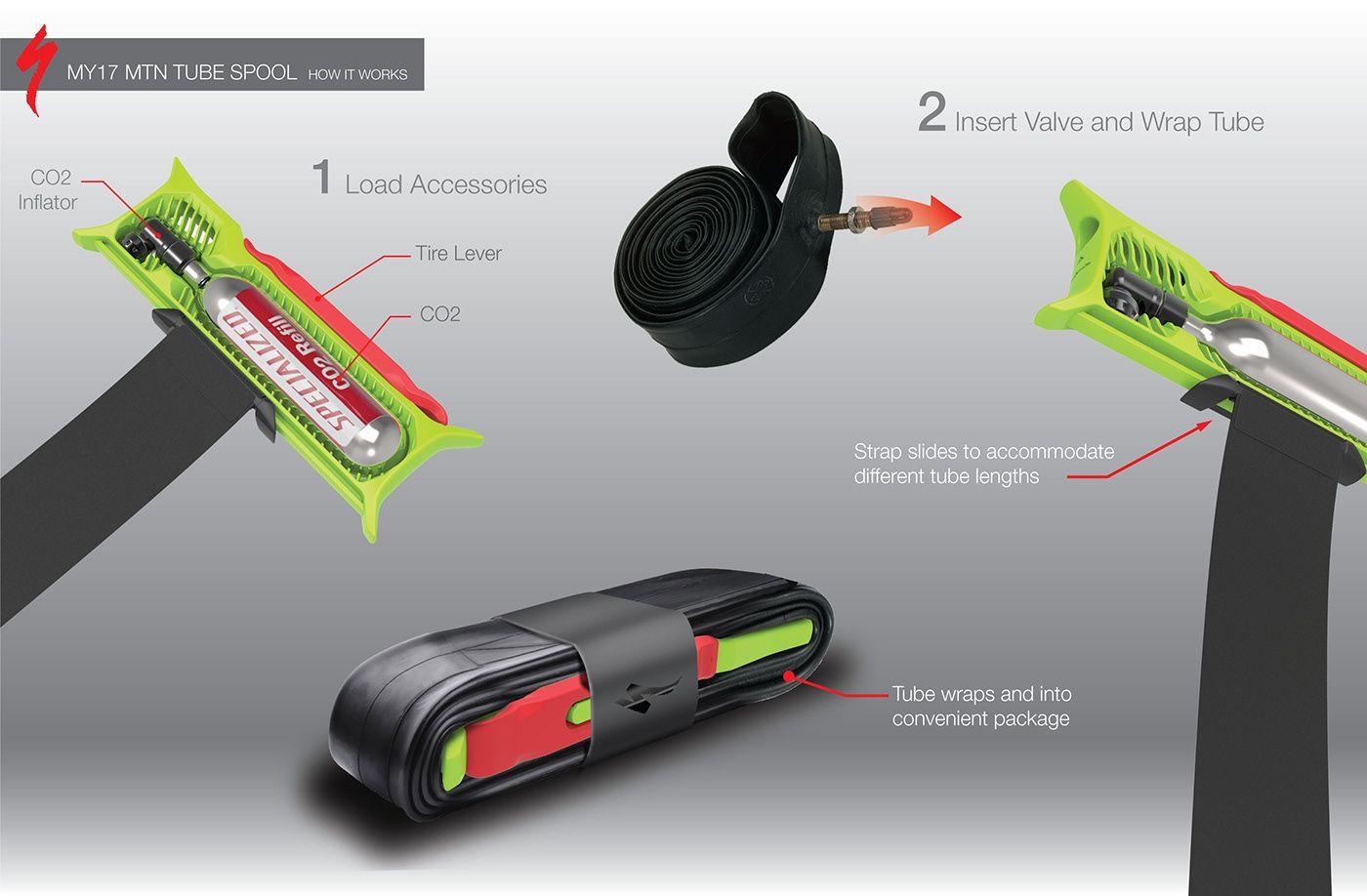 Mountain Bike Tube Repair Kit On Behance