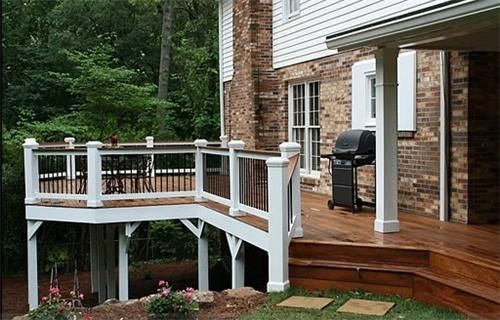 Landscaping A Split Level Home Garden Ideas Pinterest