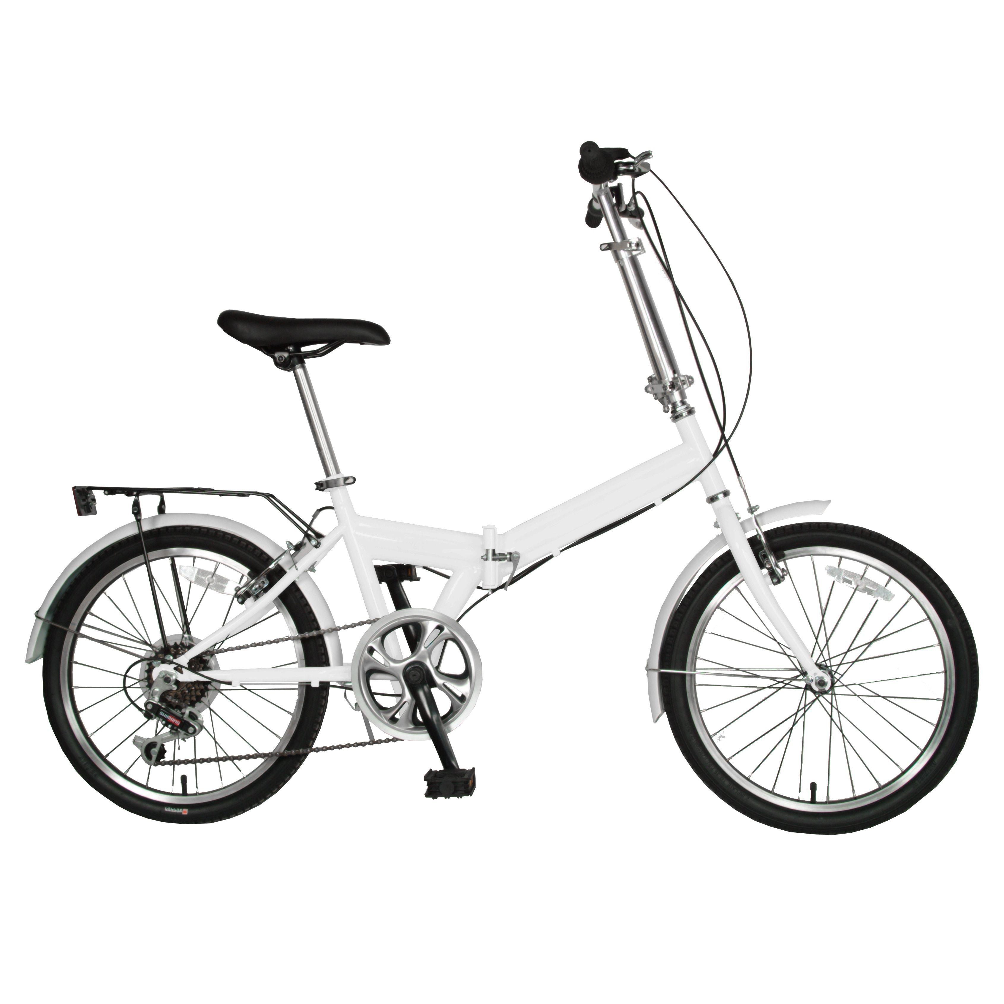 Cycle Force 20-inch Folding Bike, White | kawaii | Pinterest | Bike ...