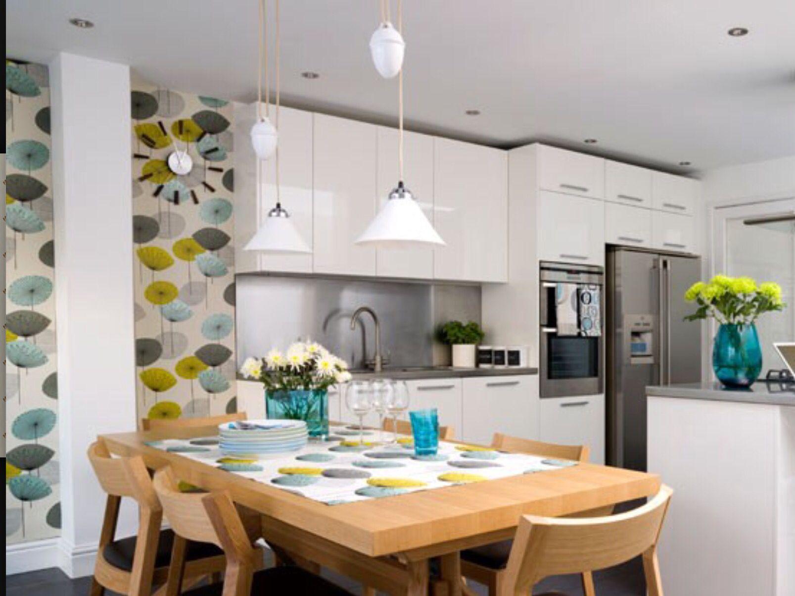 Kitchen wallpaper | Kitchen | Pinterest | Kitchen wallpaper ...