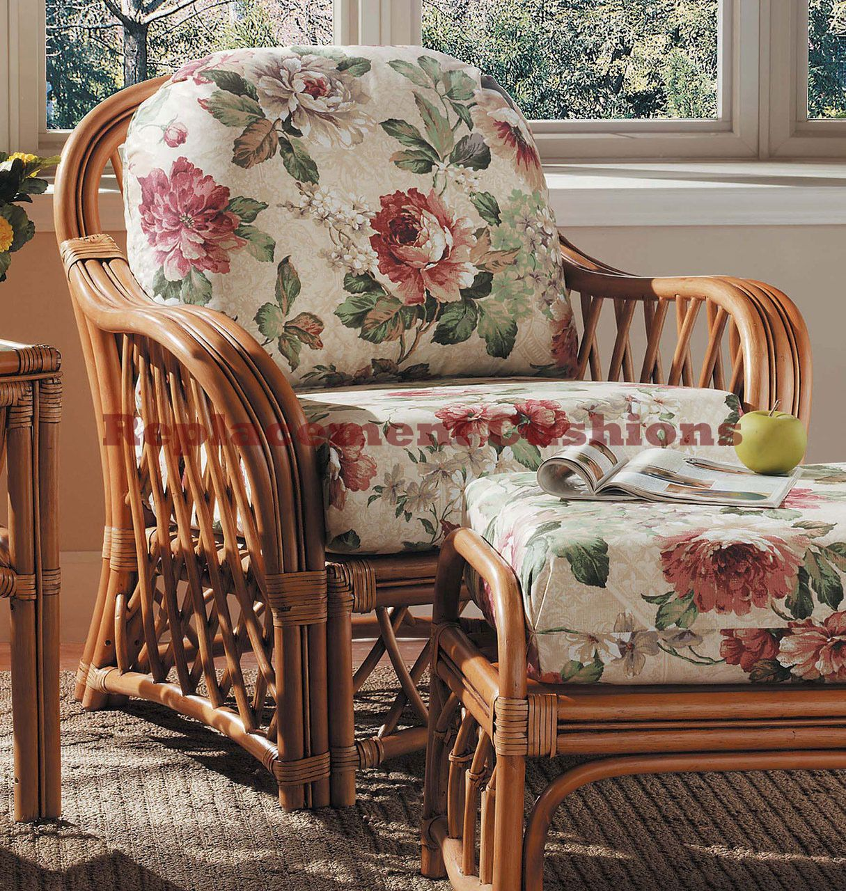 South Sea Rattan Antigua Lounge Chair Replacement Cushions In 2020