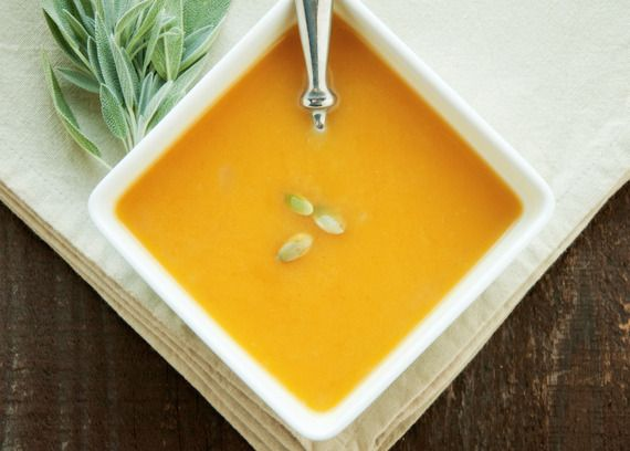 Easy & Healthy Butternut Squash Soup