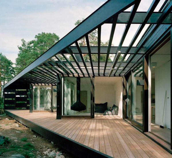 Scandinavian Summer Cottage Design