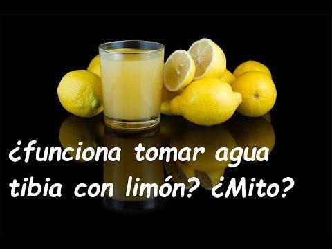 10 Beneficios de beber agua tibia con limon en ayunas - YouTube