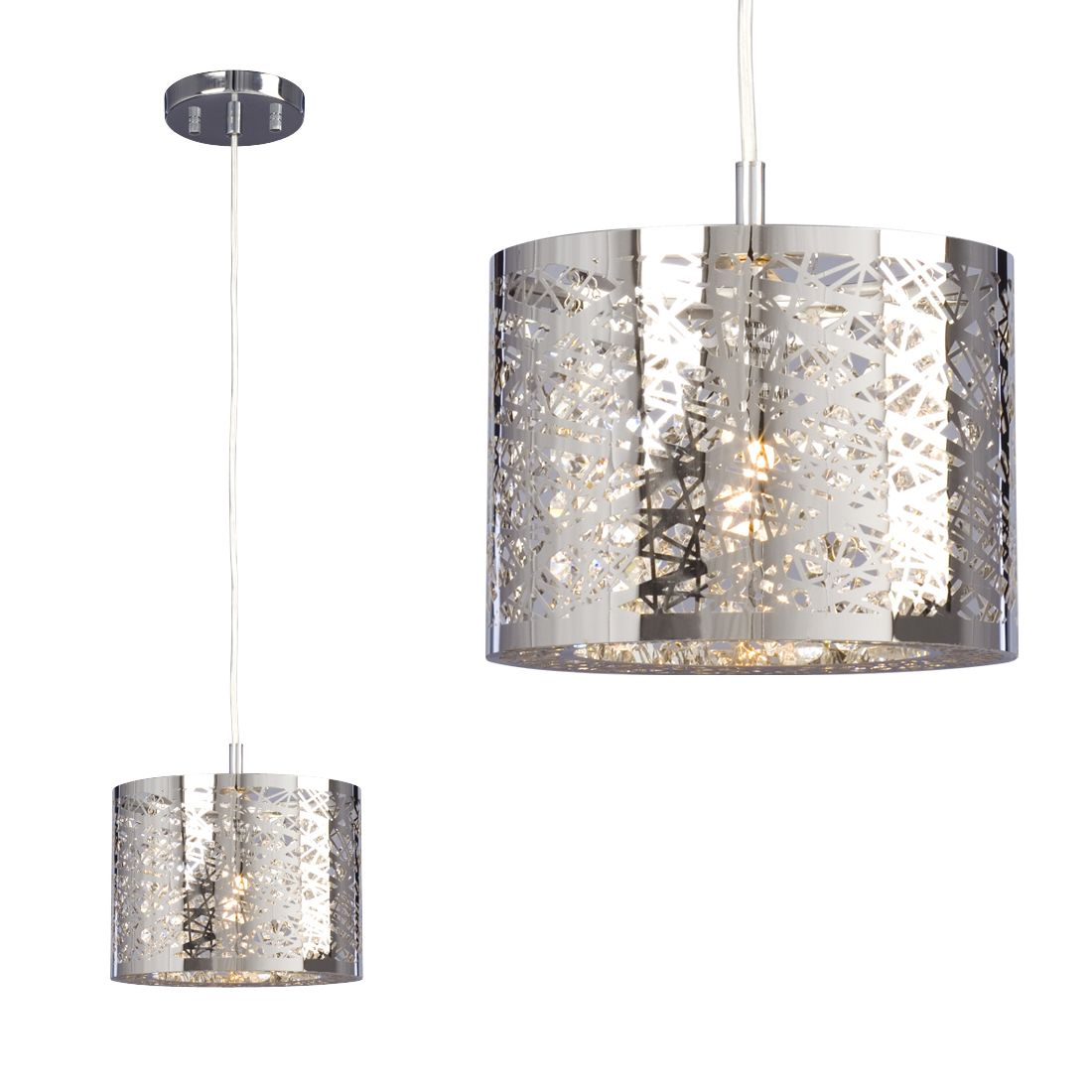 Kitchen Pendant Lights Canada: Galaxy Lighting 914784CH Venta Mini Pendant At Lowe's Canada-kitchen Island Option