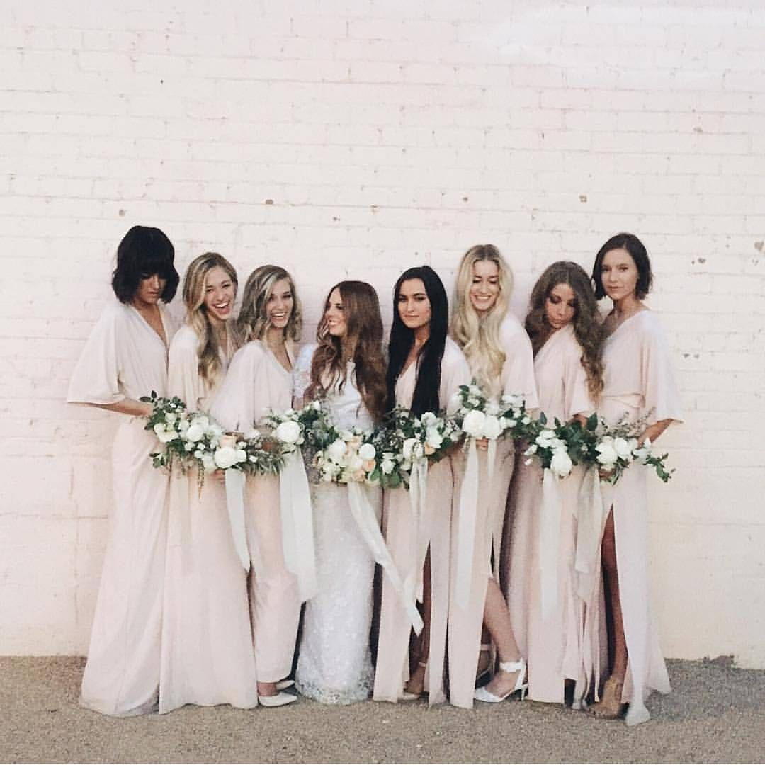 The wed list on instagram another champagne colored bridesmaid bridesmaid ombrellifo Image collections