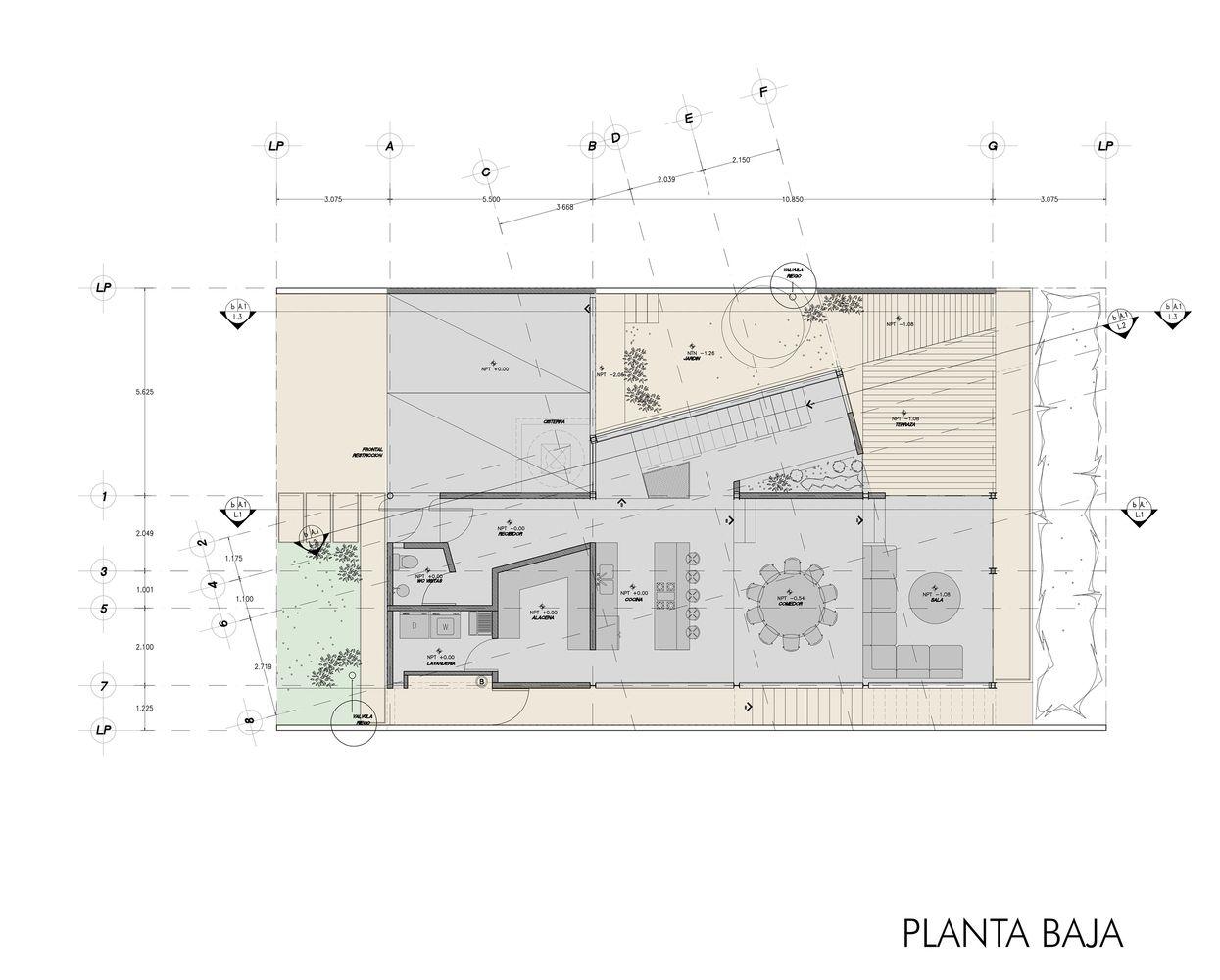 americas 1500 sordo madaleno arquitectos hotel floor plan