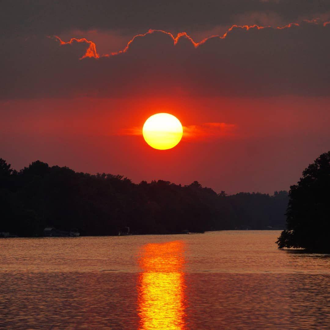 Random July Sunset Cool Bright Red Sun Sunset River Sky Summer Evening Hd wallpaper sunset river sun evening