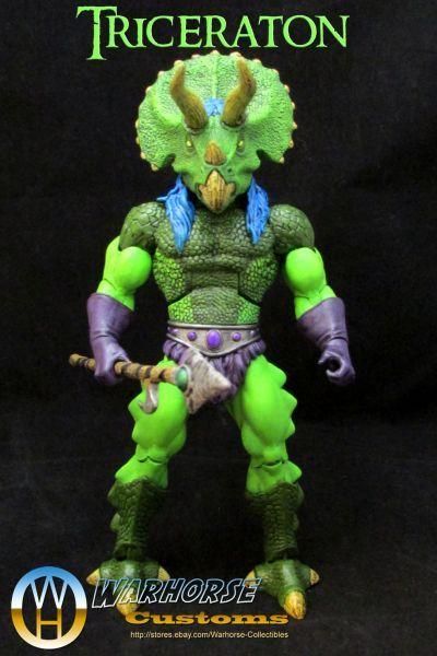 [Triceraton - Heroic Dinosaur Warrior] Next up in my ...