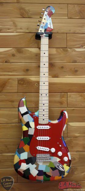 Fender Custom Shop Master Built By Dale Wilson Clown Patch Clown