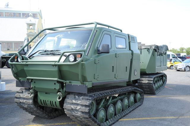 Bronco Articulated Tracked Carrier.