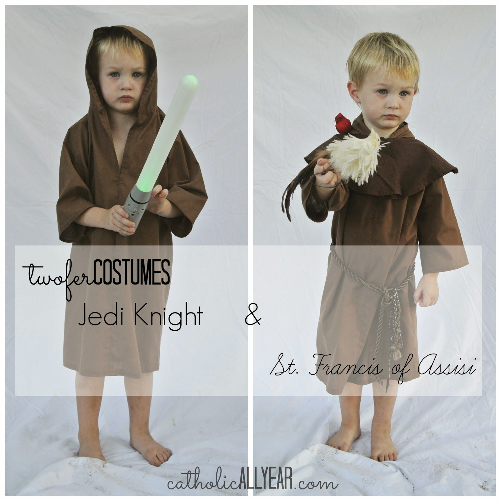 catholic all year: last minute twofer costumes for halloween and all