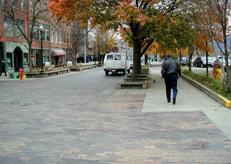 Commercial Shared Street National Association of City