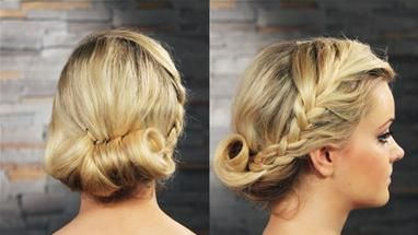 How To Do Your Hair For A School Ball (Styling Your Hair)