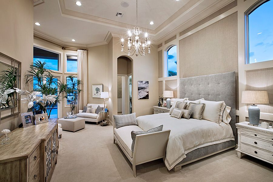 So much elegance in this master bedroom