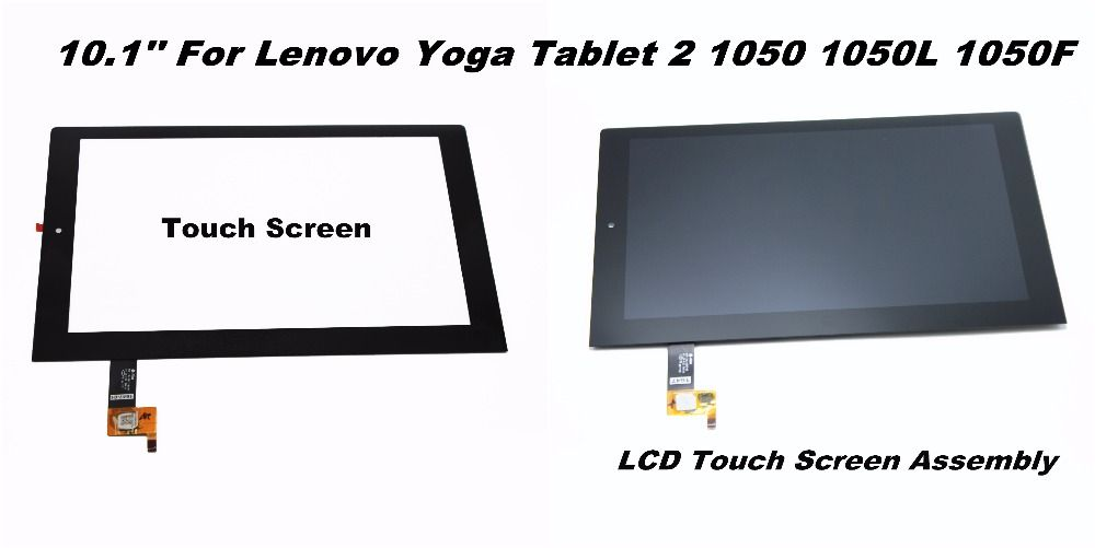 For Lenovo Yoga Tablet 2 1050 1050F 1050L Touch Digitizer Glass+LCD Assembly