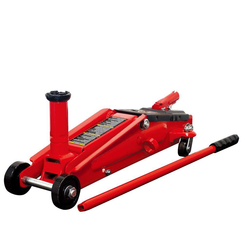 2 ton trolley CAR WHEEL JACK WIND UP lifting pad hydraulic floor garage high