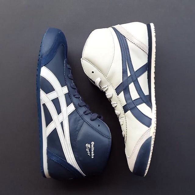 onitsuka tiger mexico mid runner fashion sneaker