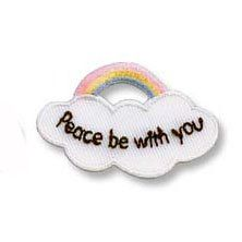 Photo of Peace Be With You Iron On Patch Applique