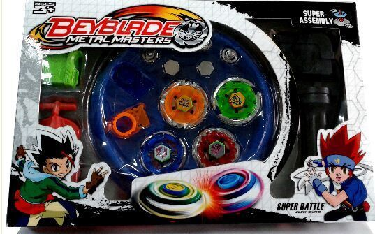 Für Beyblade Burst Fusion Metall Arena Set Bayblade Metal Mester Fight Top BE-DE