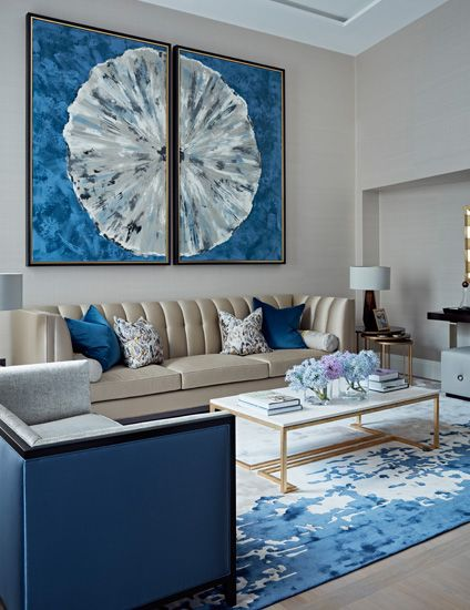 12 Incredible Blue Living Room Ideas for a Colourful Space images
