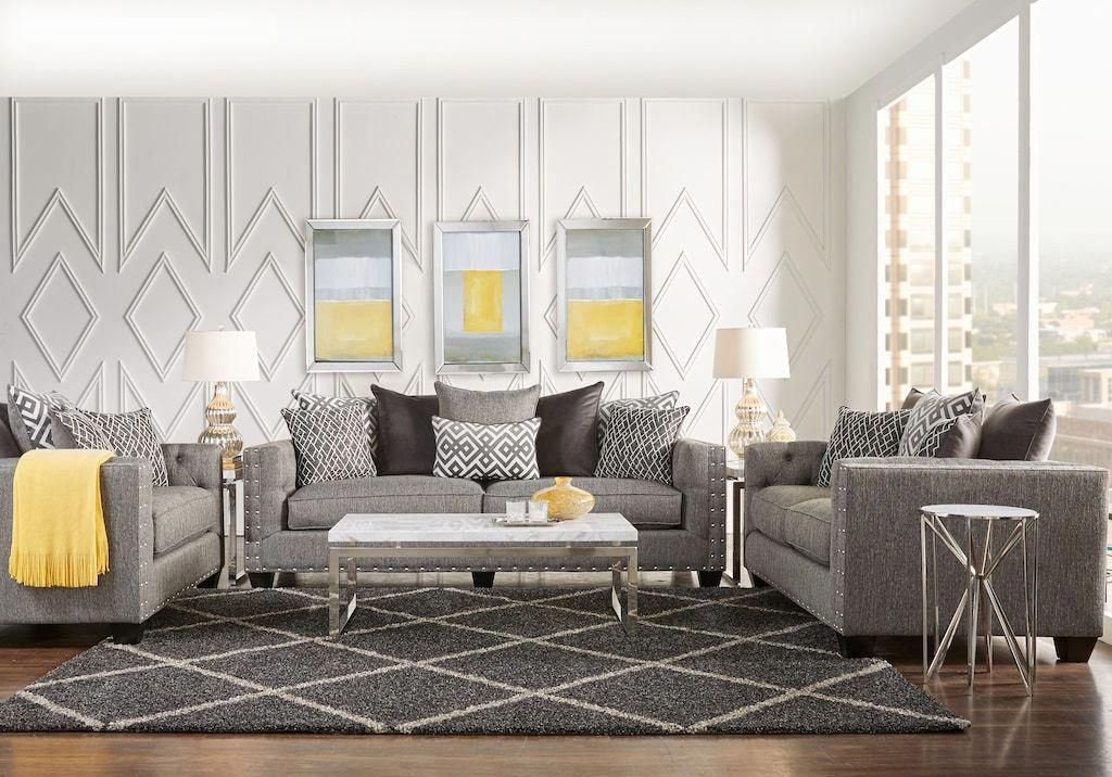 43+ Gray living room set rooms to go info