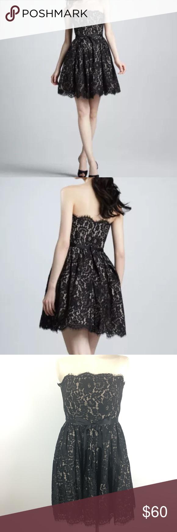 Robert Rodriguez Black Lace Dress 8 sleeveless Good