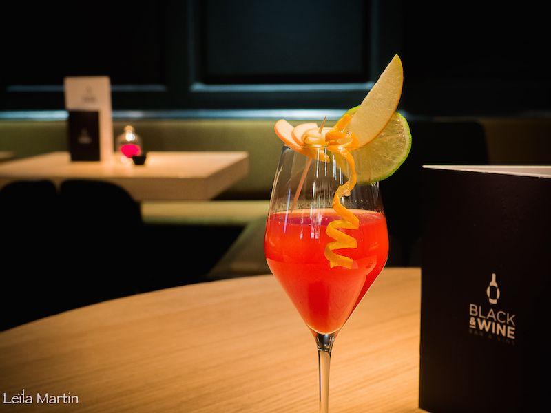 Cocktail au cremant