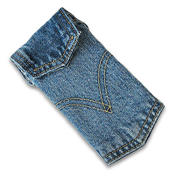 Denim MP3 Player Case Made from Jean Pockets