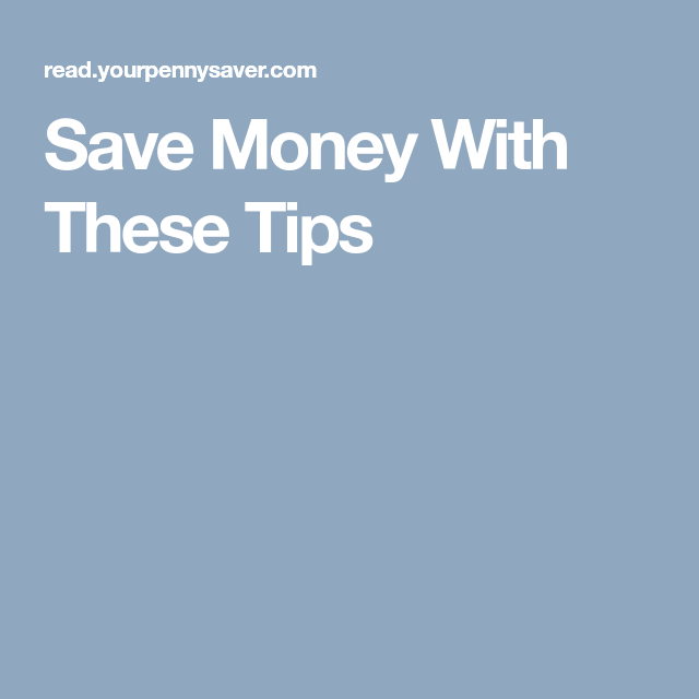 Saving Money, Tips, Childcare