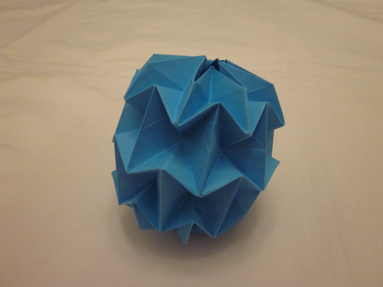 Origami Mini Magic Ball Tutorial Yuri Shumakov Projects To Try Dragon Instructions Diagram